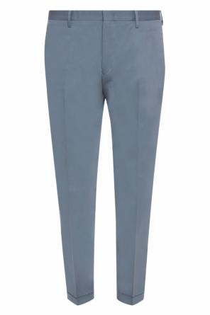 Tapered leg pleat-front trousers od Paul Smith