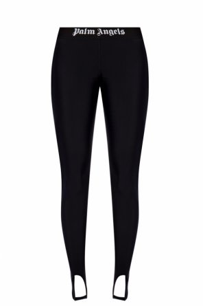 Branded leggings od Palm Angels