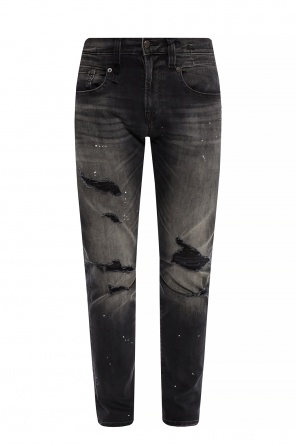 Printed jeans with rips od R13