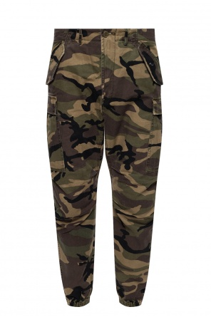 Camo pattern trousers od R13