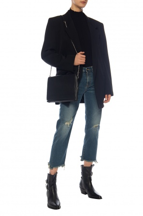 Raw-trimmed jeans od R13