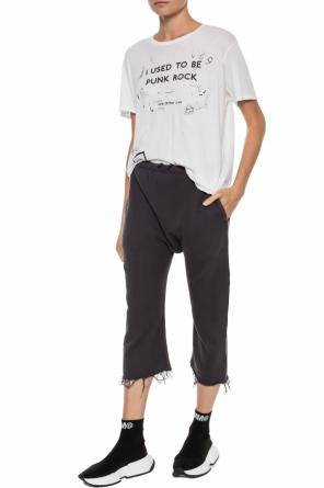 Trousers with a loose cut od R13