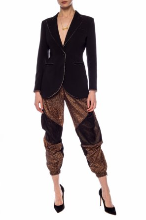 Leopard pattern trousers od R13