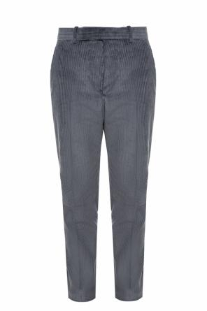 Pinstriped creased trousers od Berluti