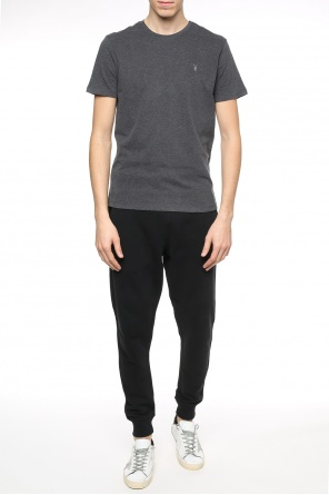 'raven'  logo-embroidered sweatpants od AllSaints
