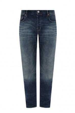 'rex' jeans with worn effect od AllSaints
