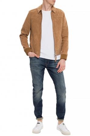 Rex复古仿旧感牛仔裤 od AllSaints