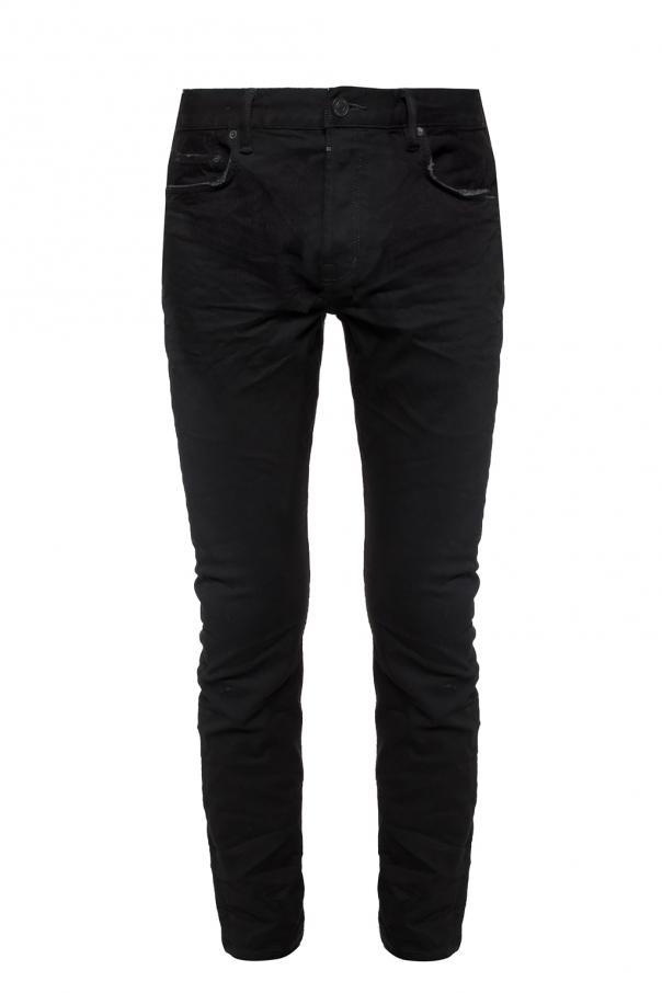 AllSaints 'Rex' raw edge jeans