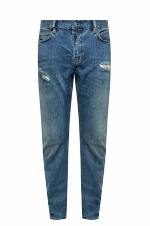 'rex' jeans with rips od AllSaints