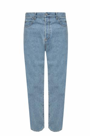 Raw-trimmed jeans od Balmain