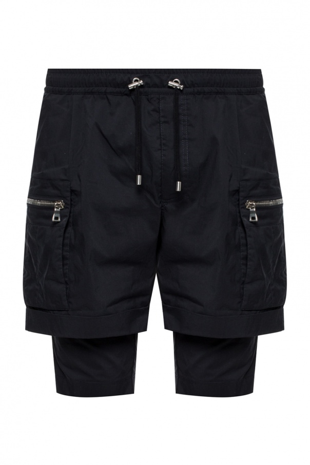 Shorts with double legs od Balmain