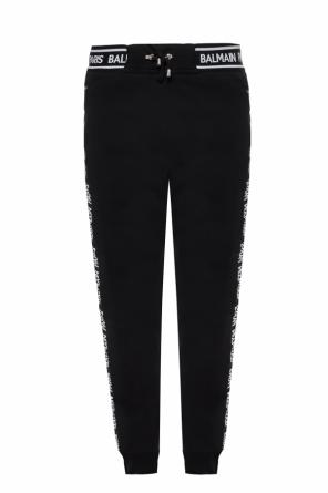 Branded sweatpants od Balmain