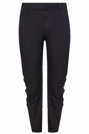 Trousers with zip cuffs od Lanvin