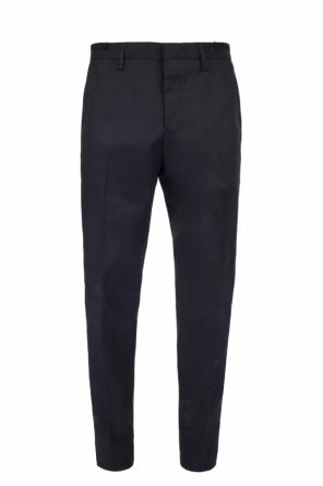 Cotton creased trousers od Lanvin