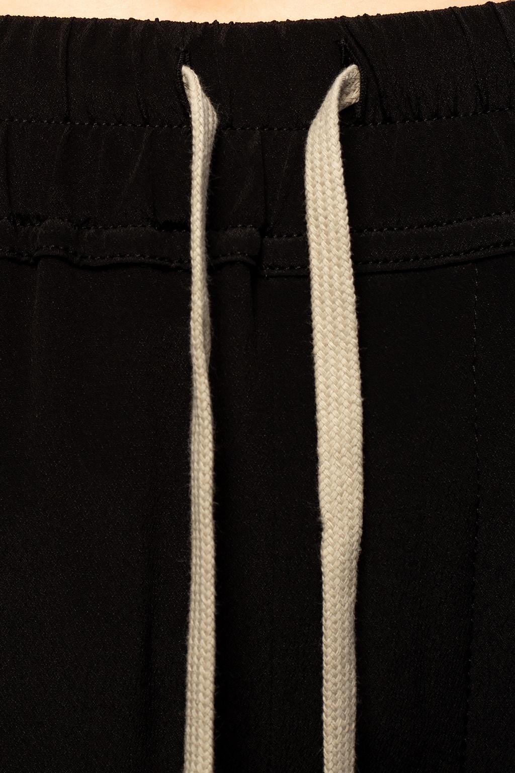 Rick Owens Spodnie z licznymi kieszeniami