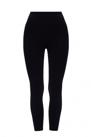 Leggings with embroidered lettering od Rick Owens