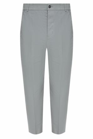 Pleat-front trousers od Rick Owens