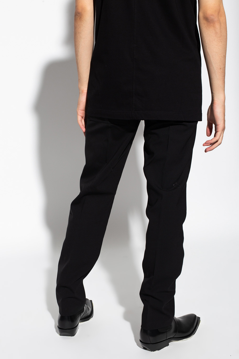 Rick Owens Dropped-crotch trousers