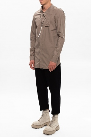 Corduroy trousers with pockets od Rick Owens