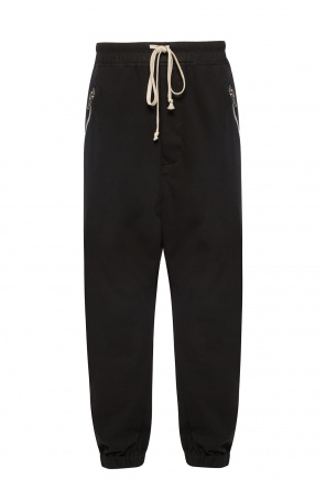 Trousers with decorative zips od Rick Owens