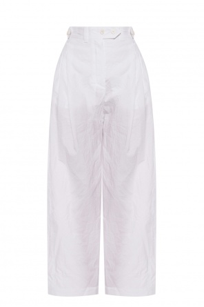 Wide leg trousers od Lanvin