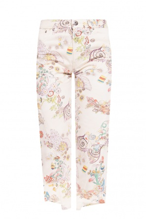 Patterned jeans od Lanvin