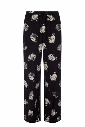 Printed trousers od Lanvin