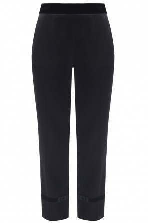 Pleat-front trousers od Lanvin