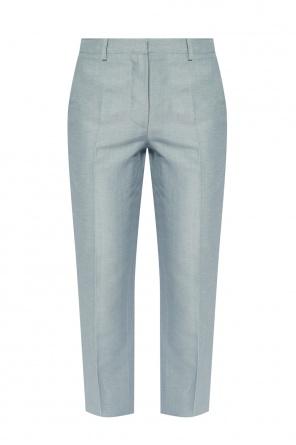 褶皱饰长裤 od Lanvin