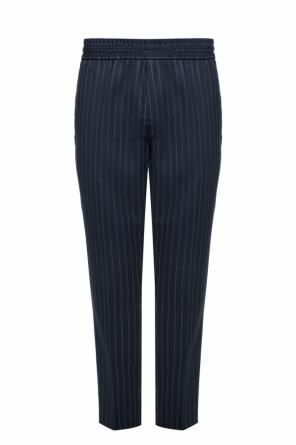 Pinstriped trousers od Acne