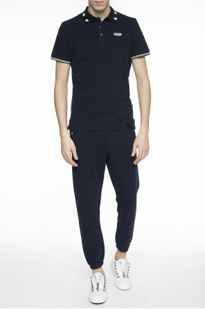 Logo-embroidered sweatpants od Just Cavalli