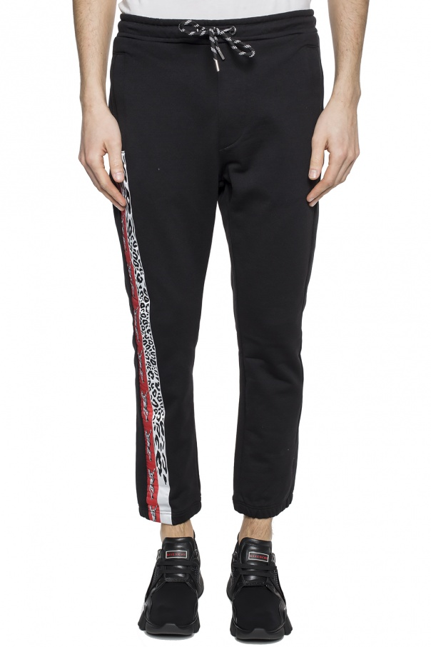 Patched sweatpants od Just Cavalli