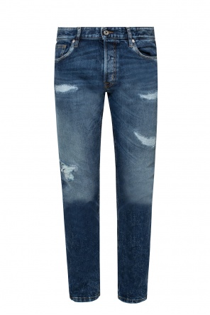 Patched jeans od Just Cavalli