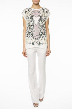 Pleat-front flared trousers od Just Cavalli