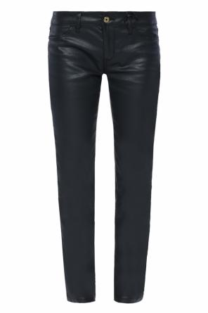 Waxed trousers od Just Cavalli