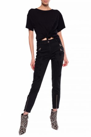 Jeans with decorative zippers od Just Cavalli