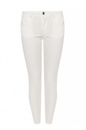 Logo-embroidered jeans od Just Cavalli