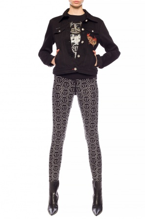 Leggings with logo od Philipp Plein