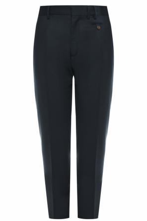 Wool pleat-front trousers od Vivienne Westwood
