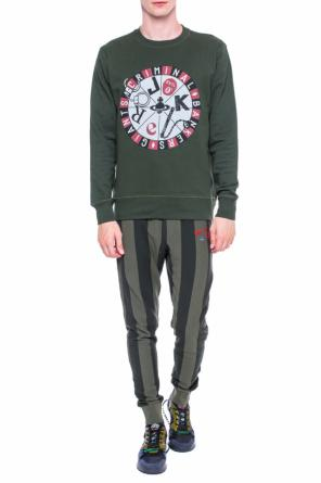 Striped sweatpants od Vivienne Westwood