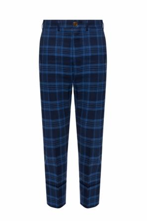 Checked creased trousers od Vivienne Westwood