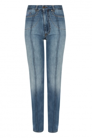 High-waisted jeans od Maison Margiela