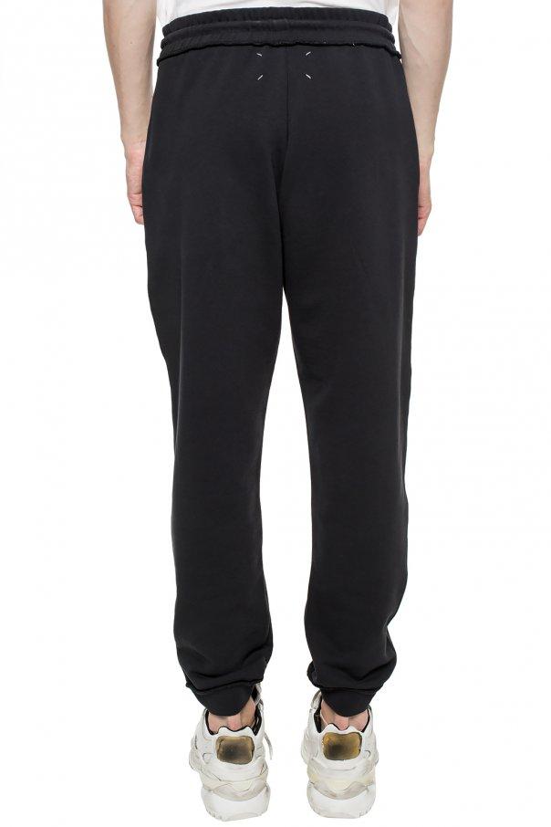 Maison Margiela Spodnie dresowe z aplikacją 6nkNSMwY
