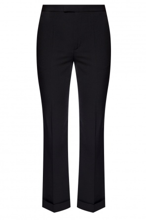 Pleat-front flared trousers od Maison Margiela