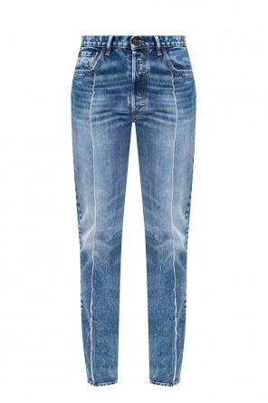 Stonewashed jeans od Maison Margiela