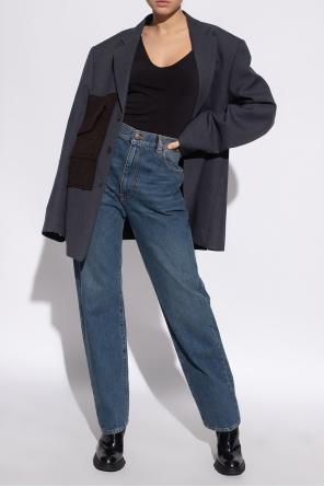 Jeans with logo od Maison Margiela