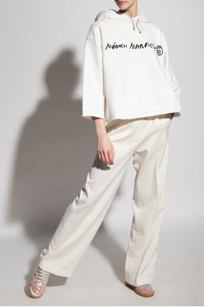 Pleat-front trousers od MM6 Maison Margiela