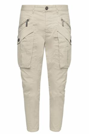Trousers with decorative pockets od Dsquared2