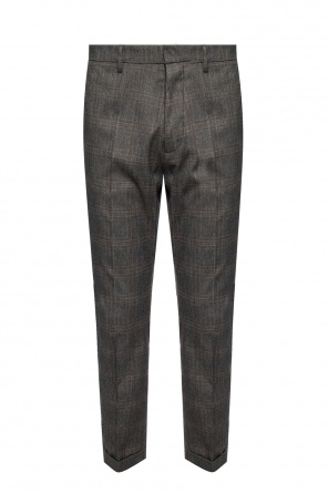 'hockney fit' checked trousers od Dsquared2