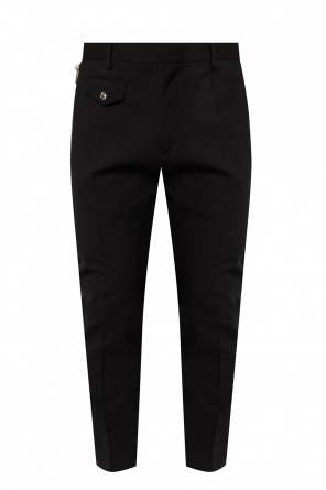 'cigarette fit' pleat-front trousers od Dsquared2